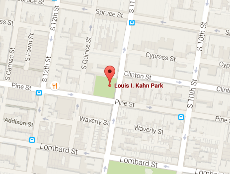 Google Maps Louis I. Kahn Park